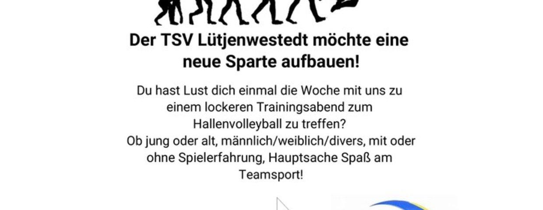 An alle Volleyballinteressierte !
